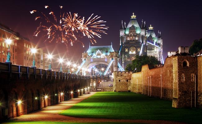5 điểm đón năm mới mơ ước ở Châu Âu