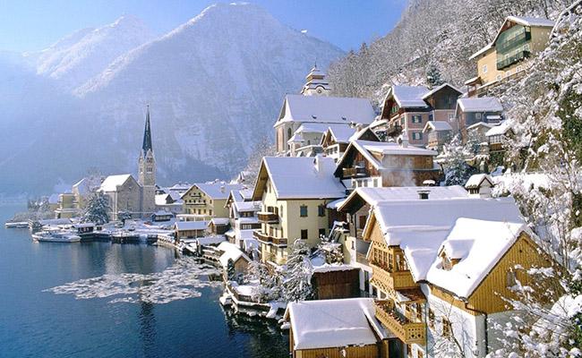 Khám phá 3 điểm đến HOT nhất mùa đông Châu Âu