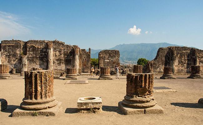 Pompeii - Thành phố bị lãng quên tại Ý