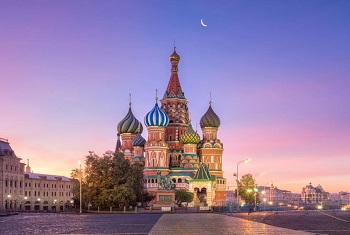 TOUR DU LỊCH NGA 2018 : MOSCOW – SAINT PETERSBURG