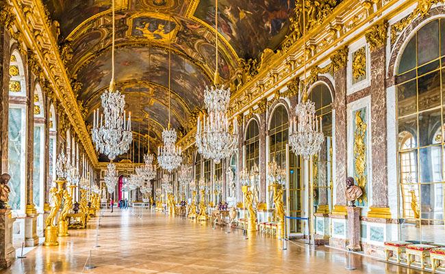 Cung điện Versailles một trong những địa danh nổi tiếng nhất nước Pháp
