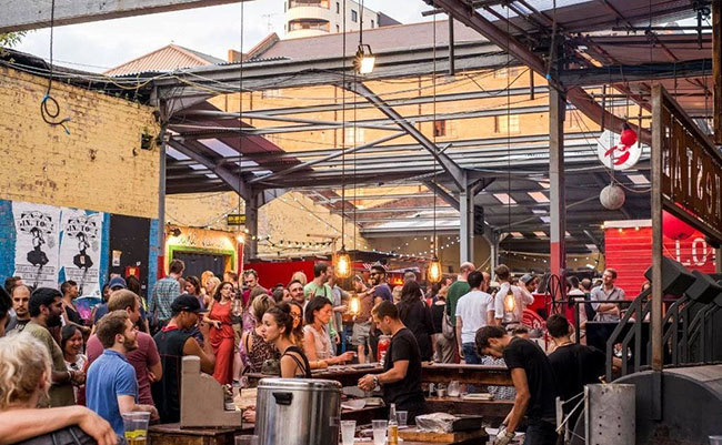 Dalston Food Market, Dalston, London, Anh