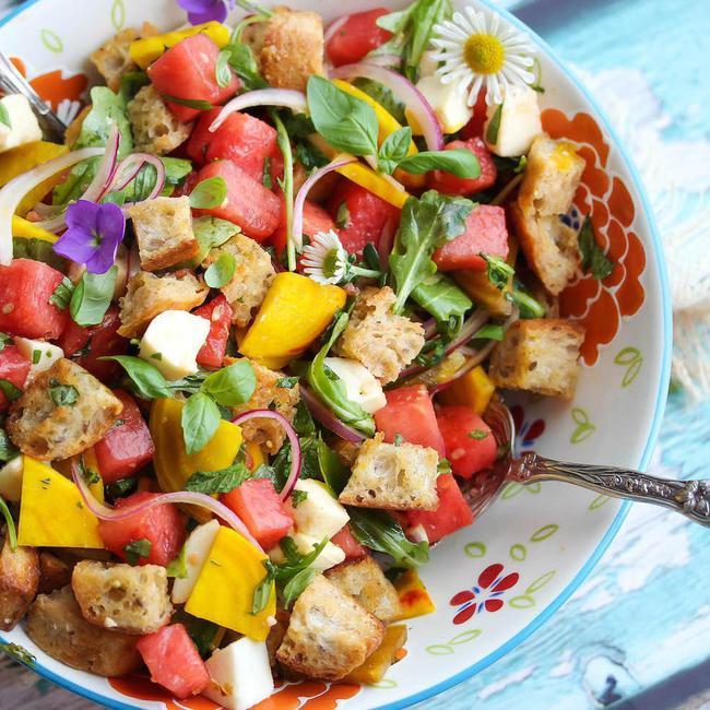 Món salad Panzanella, món độc đáo trong văn hóa ẩm thực Florence