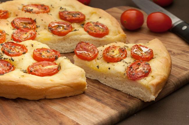 Món Schiacciata, một món đơn giản nhưng thú vị trong văn hóa ẩm thực Florence