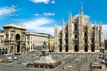 Tour xanh lá : Pháp – Thuỵ Sỹ – Ý – Vatican – Monaco