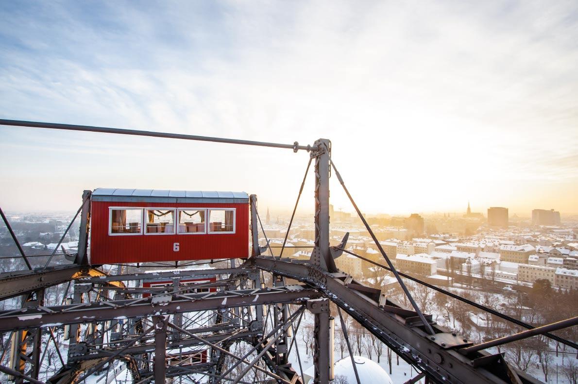 Bánh xe Ferris khổng lồ của Vienna,Áo