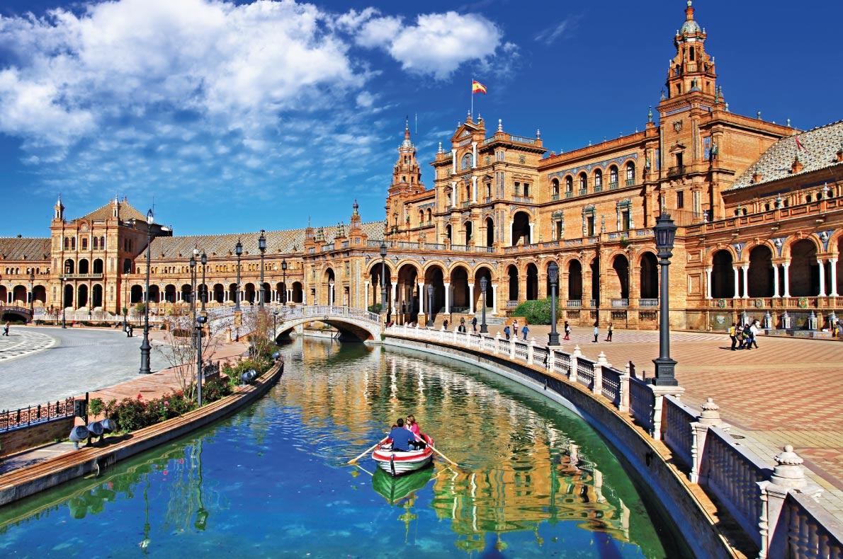 Plaza de Espana - Sevilla,Tây Ban Nha