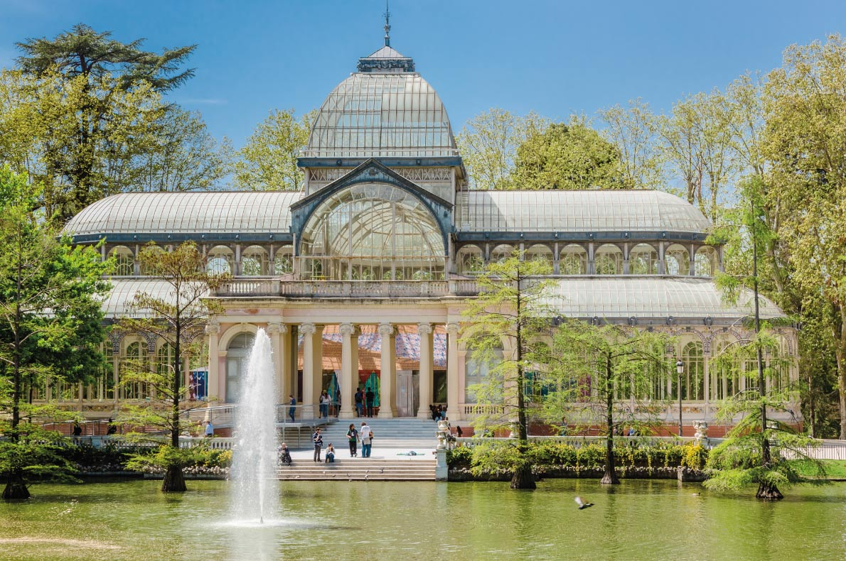 Palacio de Cristal - Công viên Retiro,Madrid