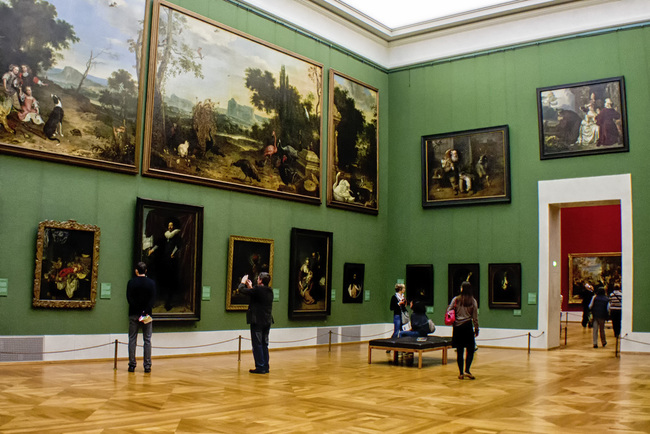 du lịch Munich - bảo tàng Alte Pinakothek