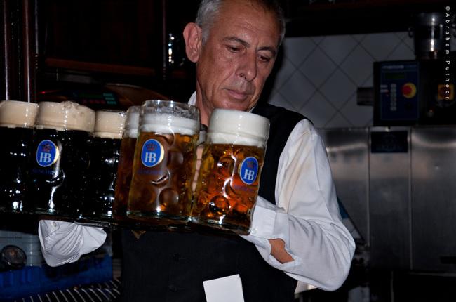du lịch Munich - bia Bavaria