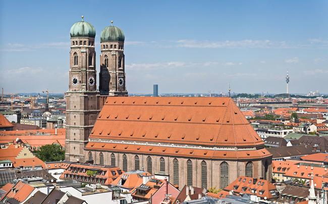 du lịch Munich - nhà thờ Frauenkirche