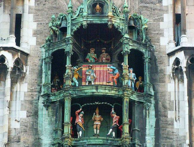 du lịch Munich - Glockenspiel