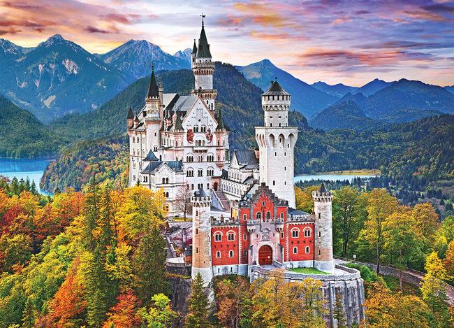 du lịch Munich - lâu đài Neuschwanstein