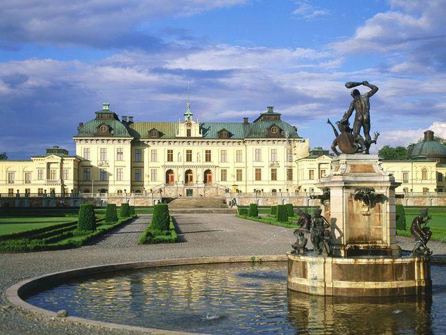 du lịch Stockholm - cung điện Hoàng Gia