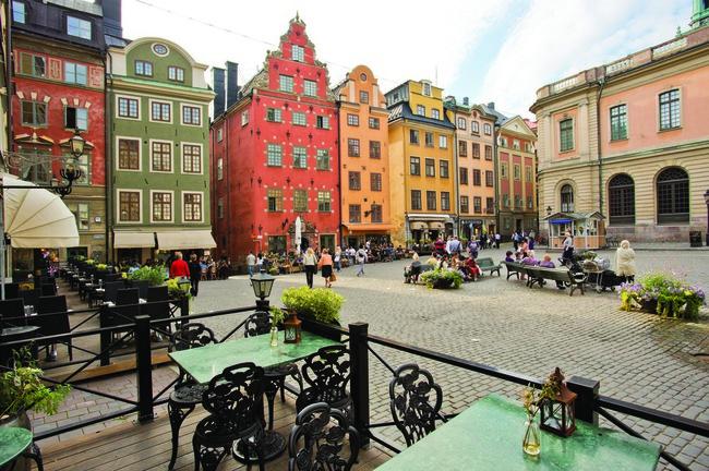 du lịch Stockholm - Gamla Stan