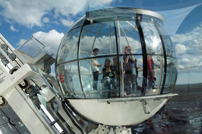 du lịch Stockholm - tòa nhà Globe