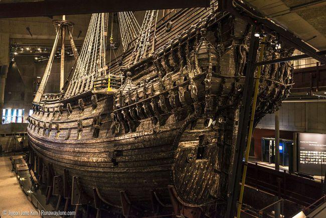 du lịch Stockholm - bảo tàng Vasa