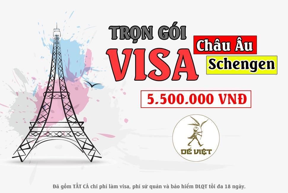 Dịch vụ làm visa Châu Âu trọn gói