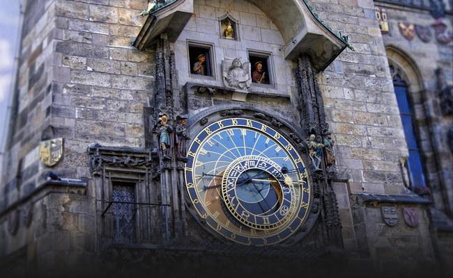 địa điểm du lịch Prague - đồng hồ thiên văn