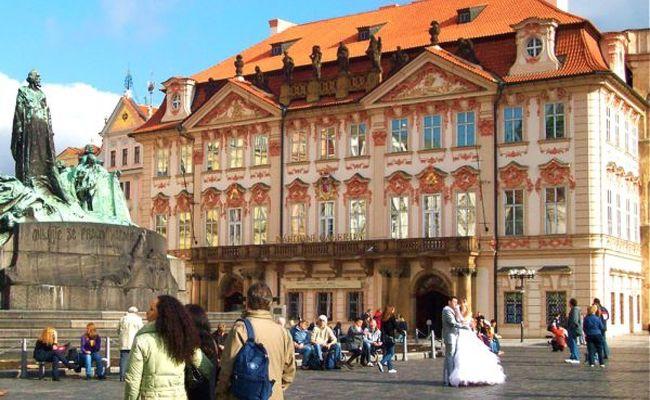 địa điểm du lịch Prague - cung điện Kinsky