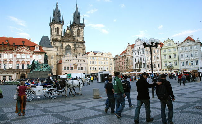 địa điểm du lịch Prague - quảng trường Old Town
