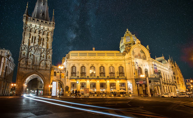 địa điểm du lịch Prague - tháp Powder