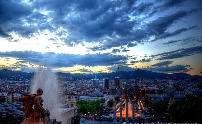 du lịch Barcelona - Castell Montjuic