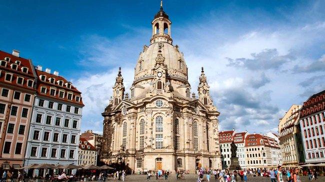 du lịch Đức - Dresden Frauenkirche