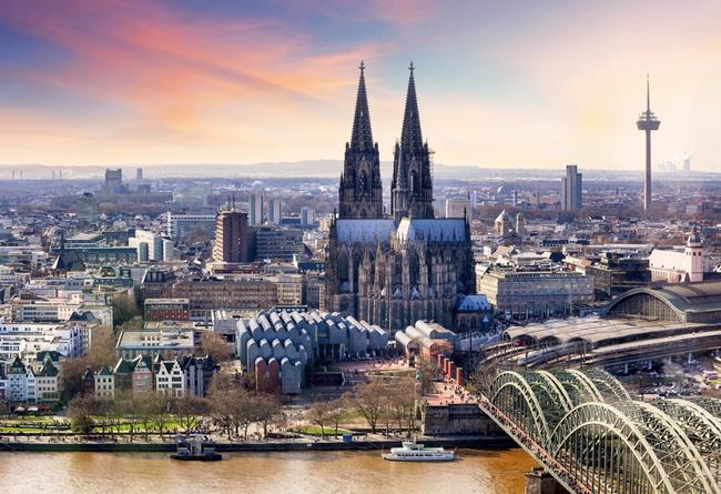 du lịch Đức - nhà thờ Cologne