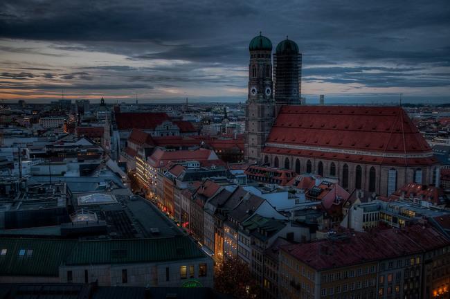 du lịch Đức -  Frauenkirche