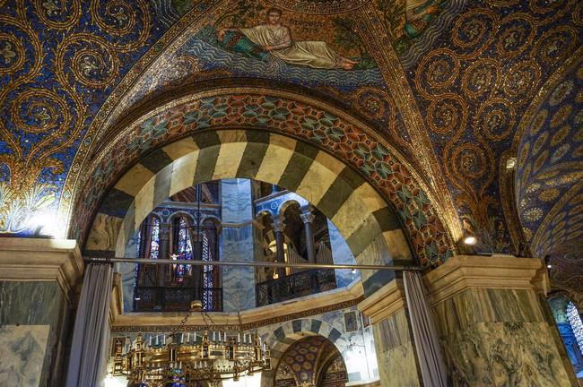 du lịch Đức - nhà thờ Aachen