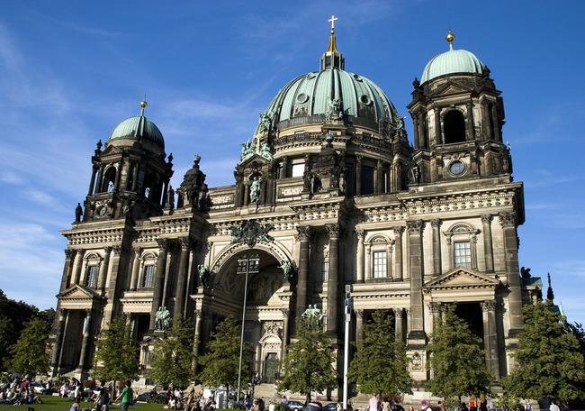 du lịch Đức - nhà thờ Berlin