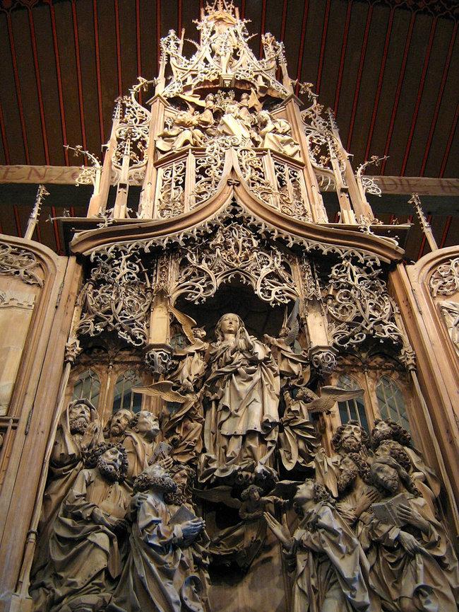du lịch Đức - nhà thờ Herrgottskirche