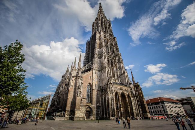 du lịch Đức - nhà thờ Ulm