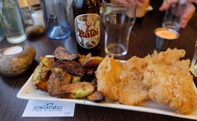 du lịch Iceland - Fish and Chips