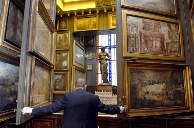 du lịch London - bảo tàng Sir John Soane