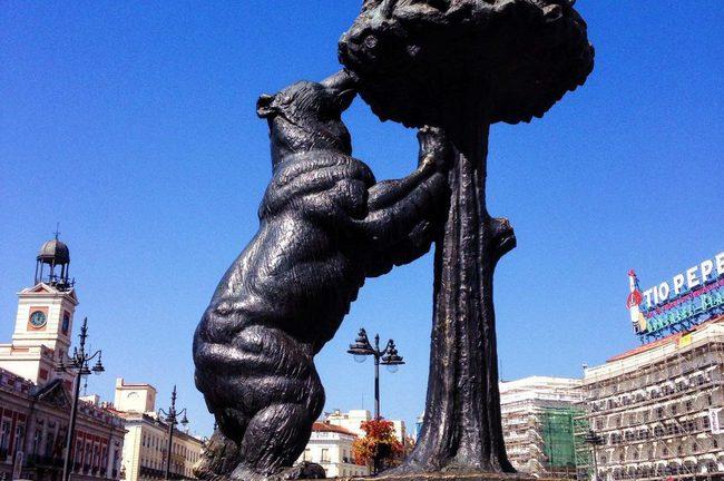 du lịch Madrid - El Oso y el Madroño