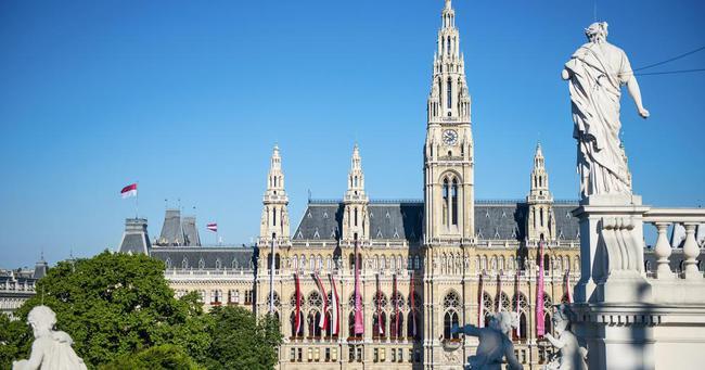 du lịch Vienna - Rathaus