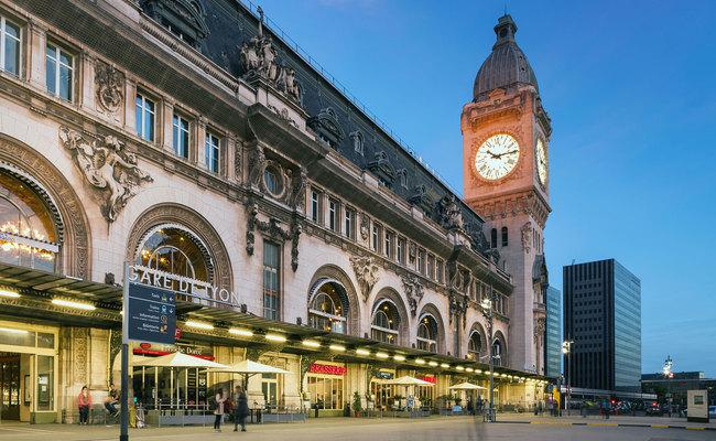 kinh nghiệm du lịch Pháp - Gare de Lyon