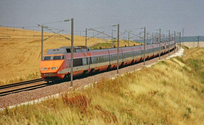 kinh nghiệm du lịch Pháp - Tàu TGV