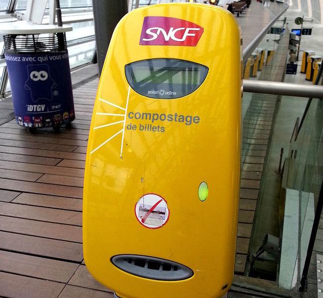 kinh nghiệm du lịch Pháp - vé tàu SNCF