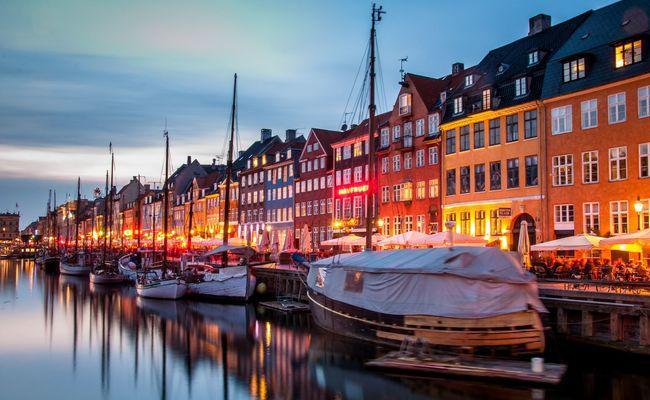 tour du lịch Bắc Âu - Nyhavn