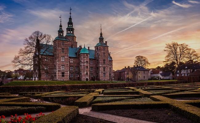 Tour du lịch Bắc Âu - Lâu đài Rosenborg