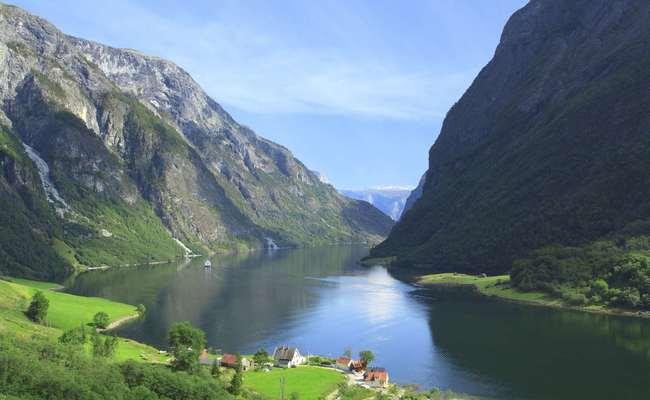 tour du lịch Bắc Âu - Vịnh Sognefjord