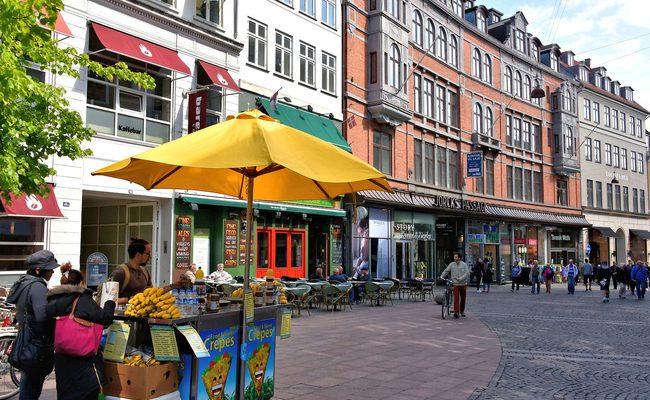 tour du lịch Bắc Âu - Khu mua sắm Strøget