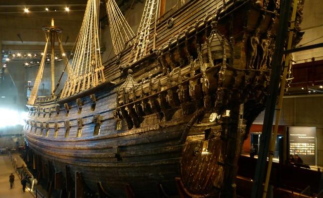 tour du lịch Bắc Âu - bảo tàng Vasa
