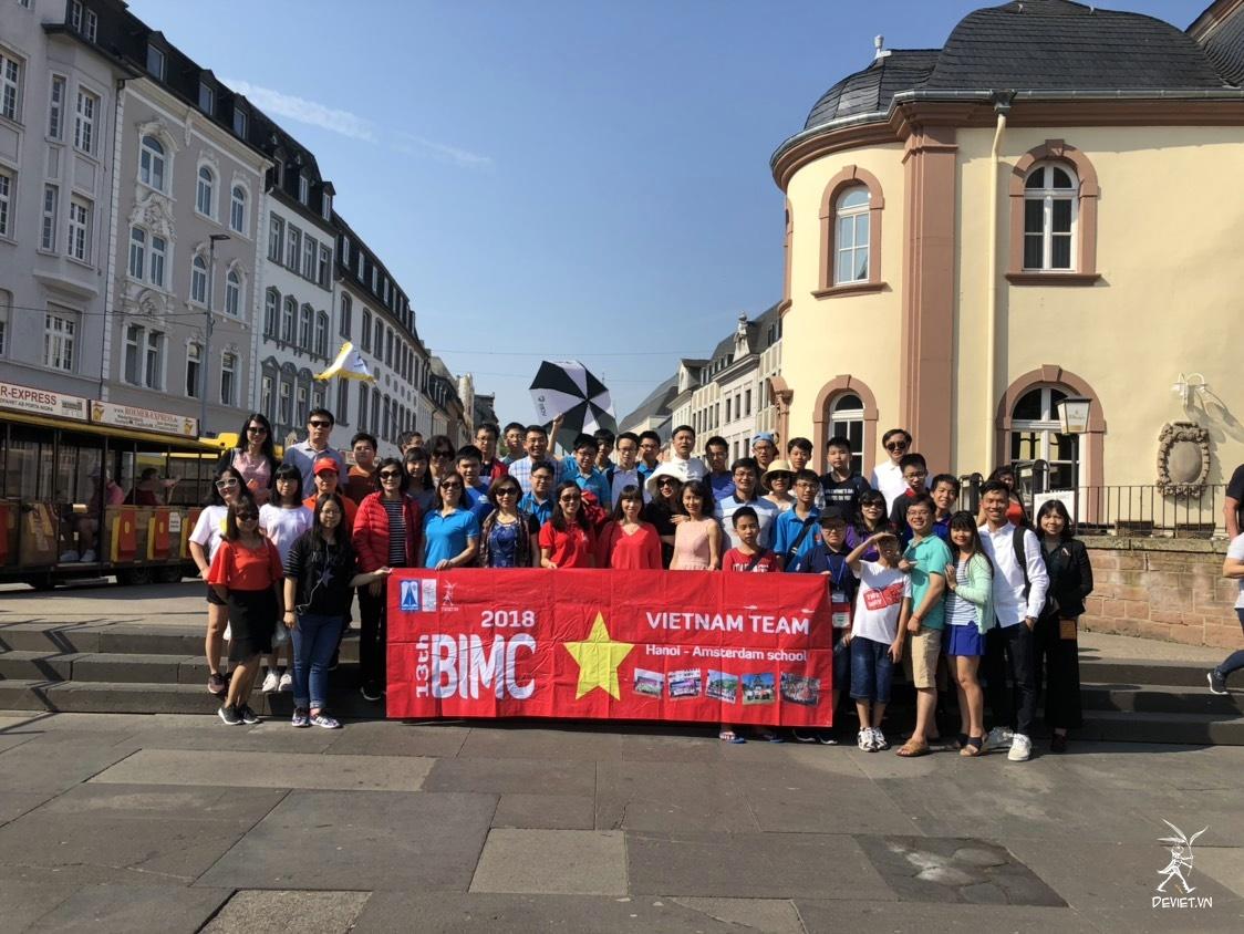 Dế Việt đồng hành nâng bước trí tuệ Việt tại châu Âu