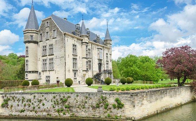 đất nước hà lan - lâu đài valkenburg