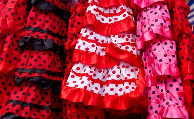 đất nước tây ban nha - váy flamenco