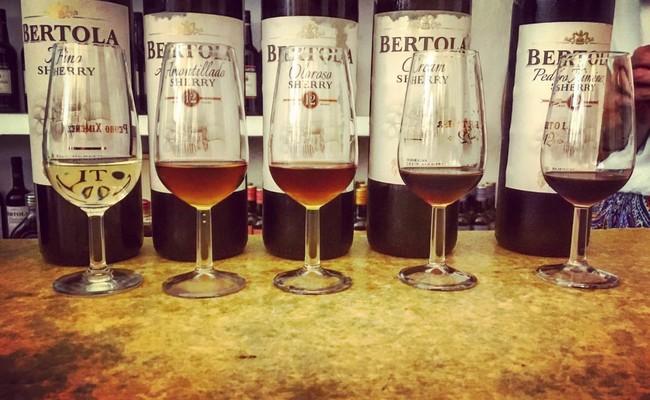 đất nước tây ban nha - rượu sherry